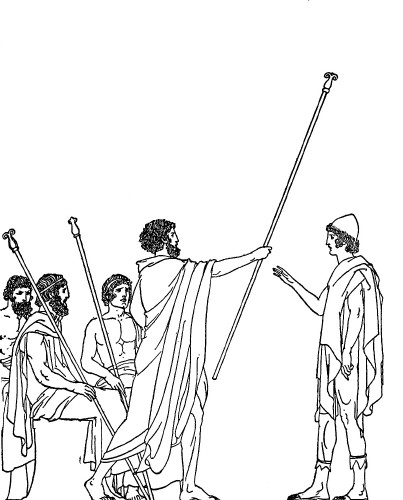 odysseus coloring pages - the adventures of odysseus and the tale of troy part i