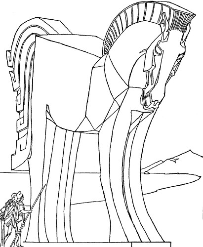 coloring pages odyssey of homer - photo#15
