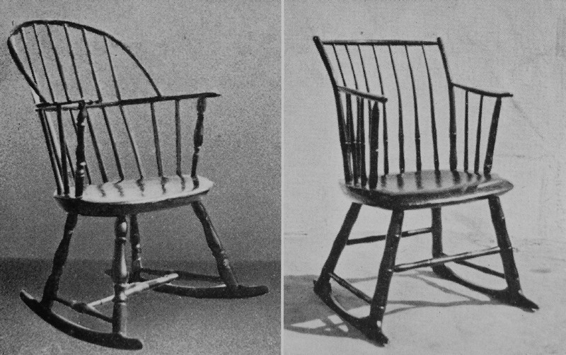 Early American Craftsmen Chapter 4 – Windsor Rocking Chairs